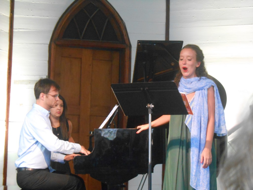 Gros Morne Summer Music Concert, St. Patrick's Church (David Maggs and Yvette Coleman)