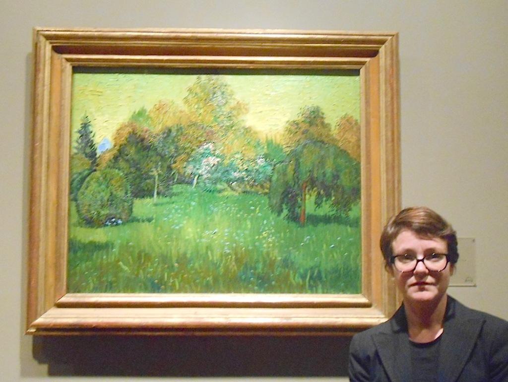 Stephanie_with Van Gogh